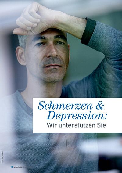 Vorschaubild Serviceangebot novego: Schmerzen und Depression