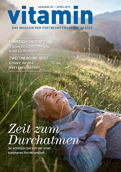Titelseite vitamin Ausgabe 82