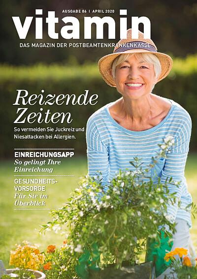 Titelseite vitamin Ausgabe 86