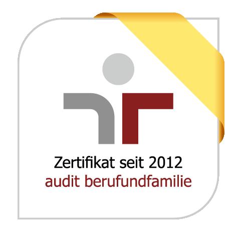 Logo Auszeichnung Audit Beruf und Familie